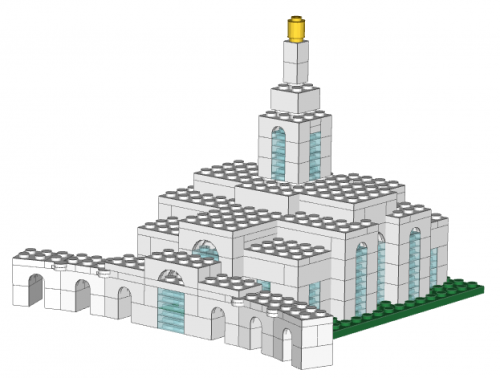 Small Mount Timpanogos Temple